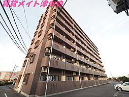 三重県津市城山3丁目の賃貸マンションの外観