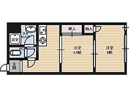 芙蓉園[2階]の間取り