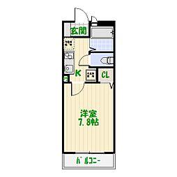 東京都足立区東和5の賃貸アパートの間取り