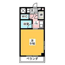 フィオーレ小坂本町[5階]の間取り