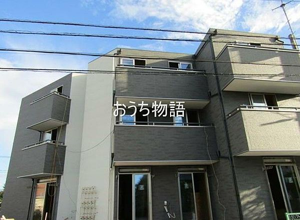 千葉県八千代市村上の賃貸アパートの外観
