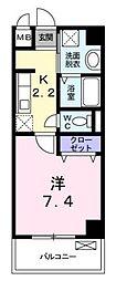 プリマヴェーラ(茅ヶ崎南2)[2階]の間取り