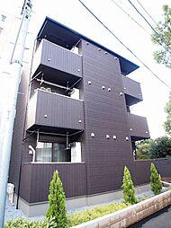 埼玉県越谷市弥生町の賃貸アパートの外観