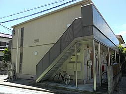 埼玉県戸田市本町4丁目の賃貸アパートの外観