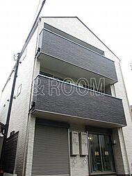 東京都練馬区中村1丁目の賃貸アパートの外観