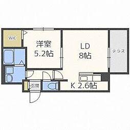 ドルチェ621[1階]の間取り