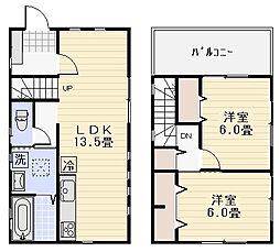 [一戸建] 神奈川県三浦郡葉山町一色 の賃貸【/】の間取り