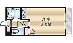 ヴェルジュ阿倍野[4階]の間取り