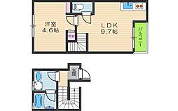 デザインメゾン茶屋町[2階]の間取り