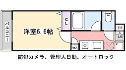 PARK SQUARE 津田沼[2階]の間取り