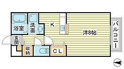 コンフォートテクノIIB[1階]の間取り