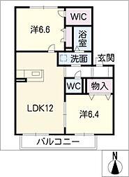 アイランドT[2階]の間取り