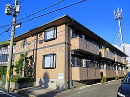 兵庫県川西市東畦野5丁目の賃貸アパートの外観
