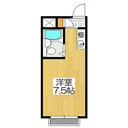 吉岡マンション[306号室]の間取り