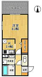 仮)D-room北昭和町[3階]の間取り