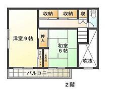 [一戸建] 千葉県千葉市若葉区若松台3丁目 の賃貸【/】の間取り