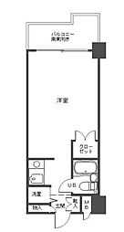 パークアヴェニュー新宿西[2階]の間取り