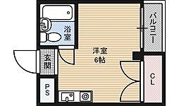 ロフティ淡路[4階]の間取り