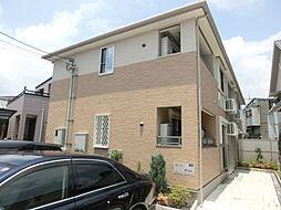 大阪府茨木市豊川4丁目の賃貸アパートの外観