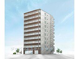 仮)高砂2丁目新築マンション[6階]の外観