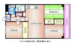 パールマンション--[202号室]の間取り