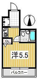 ルミエール[0302号室]の間取り