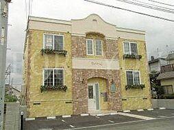 北海道札幌市白石区平和通6丁目北の賃貸アパートの外観