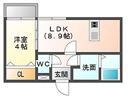 cloud21[1階]の間取り
