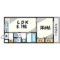 maison de PaPa[2階]の間取り