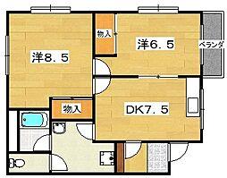 奥野ビル[2階]の間取り