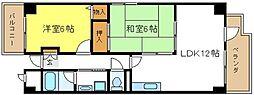 ドミール12[2階]の間取り