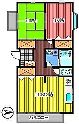 Beautiful Koto[2階]の間取り