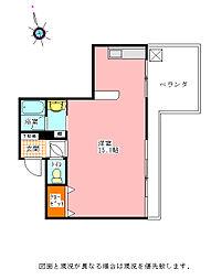 鳴門濱口ビル[402号室]の間取り