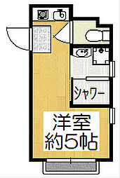 マンション大和[1階]の間取り