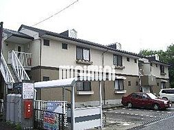 愛知県岡崎市美合西町の賃貸アパートの外観