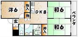 サクセスT[1階]の間取り