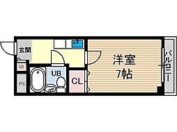 安田第3ビル[2階]の間取り