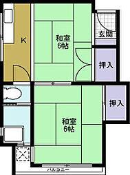 富士ビル[3階]の間取り