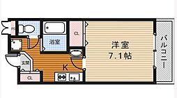 コートイズミ[4階]の間取り