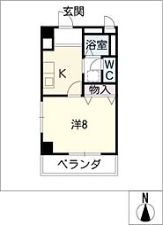 グレース小坂本町[5階]の間取り