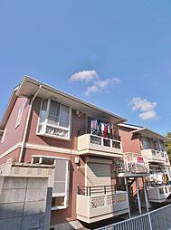 埼玉県川越市砂新田4丁目の賃貸アパートの外観