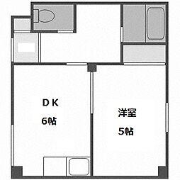 北海道札幌市白石区東札幌五条2の賃貸マンションの間取り