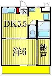 サードアベニュー[2階]の間取り
