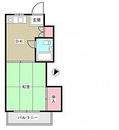 リザハウス西広島[3階]の間取り