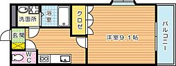 ポートソレイユ[2階]の間取り
