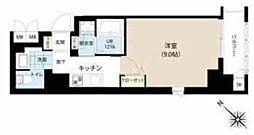 東京メトロ半蔵門線 水天宮前駅 徒歩7分の賃貸マンション 4階1Kの間取り