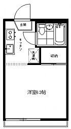 生田パークハウス[102号室号室]の間取り