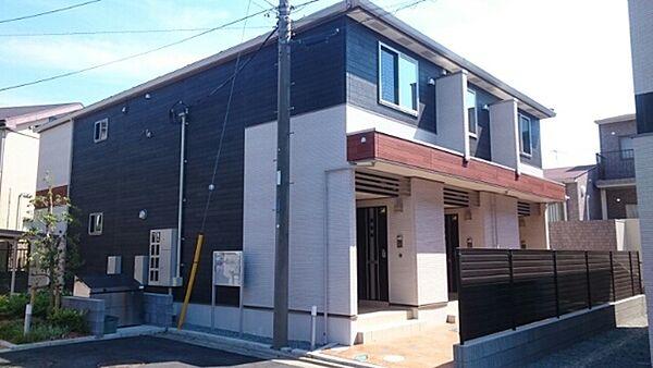 神奈川県藤沢市湘南台3丁目の賃貸アパートの外観