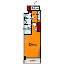 メインステージ亀戸II[10階]の間取り