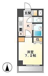 KIIOKASANB二番館[4階]の間取り